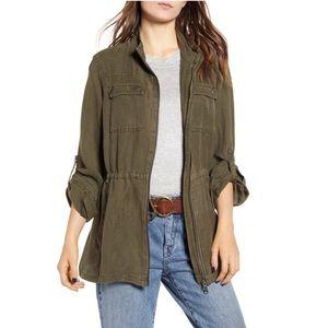 Linen Blend Field Jacket